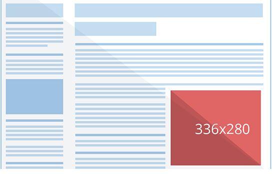 Large Google Display Banner Rectangle (336×280)