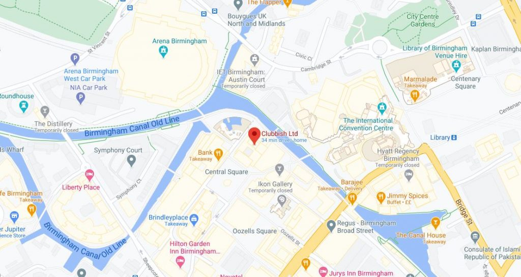 Google Map Promotional Pin