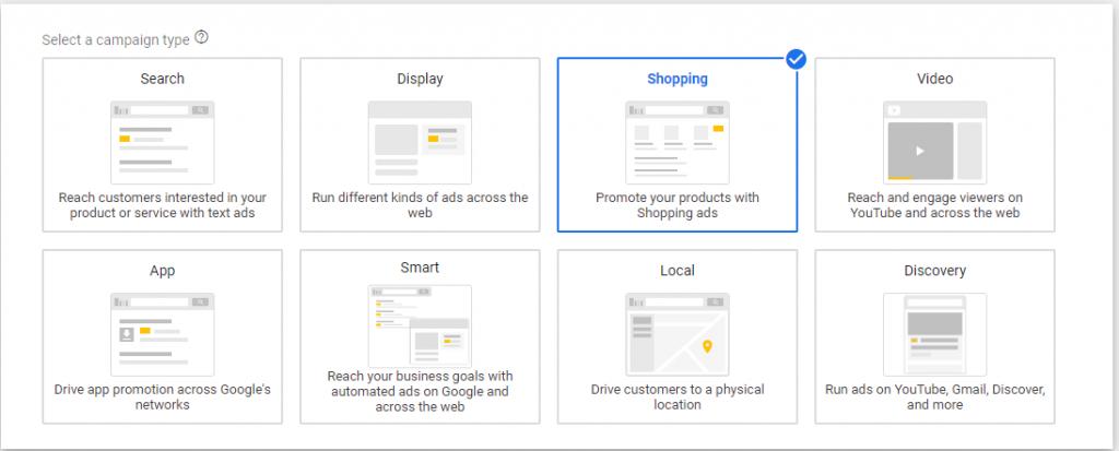 how to setup a google shopping ad