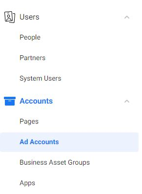 Add an Ad Account in Facebook Business Manager