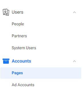 Add a Page In Facebook Business Manager