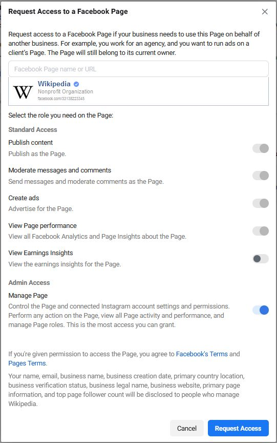 Add A Facebook Page In Business Manager